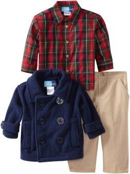 Good Lad Baby-Boys Baju Anak Laki-Laki Set Dengan Jaket