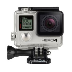 GoPro HERO4 Black Edition - FULL HD 4K/60FPS - Hitam