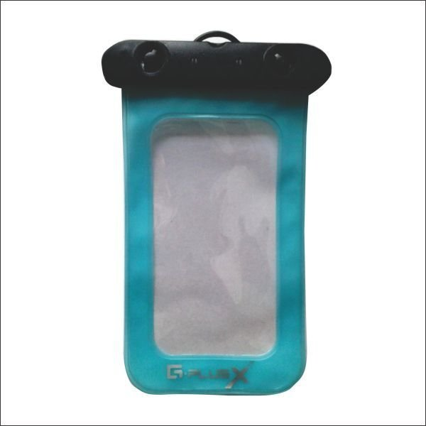 GPlus Sarung HP Anti Air Waterproof Pouch - Biru