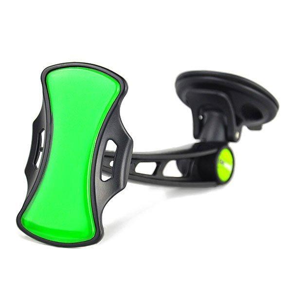 GripGo Universal Car Phone Mount - Hitam-Hijau
