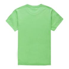 Grunge Patriotic Star Logo Cotton Soft Men Short T-Shirt (Green) - Intl