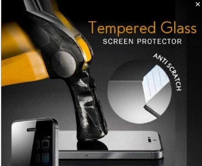 Guard Angel - Lumia 1320 Tempered Glass Screen Protector