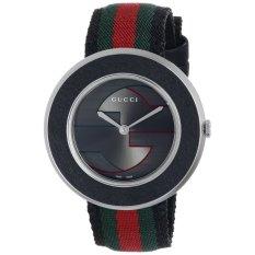 Gucci Women's Black Dial Quartz Watch YA129444 (Intl)