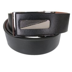 Gudang Fashion - Mens Formal Semi Leather Belts - HITAM