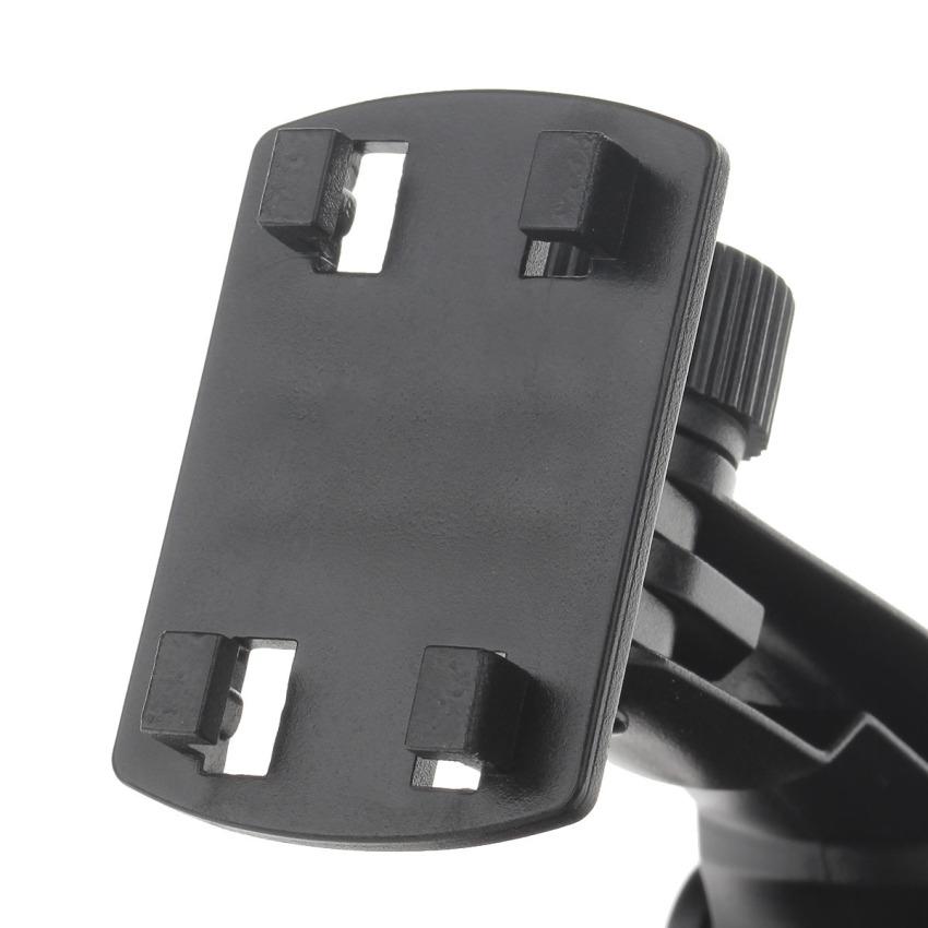 H01 180 Degree Rotation Suction Cup Holder w/ C38 4.3~5.5 Back Clip Bracket - Black (Intl)