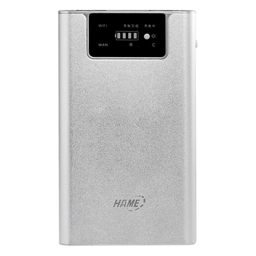 Hame F1 - Powerbank & Router 7800mAh - Silver