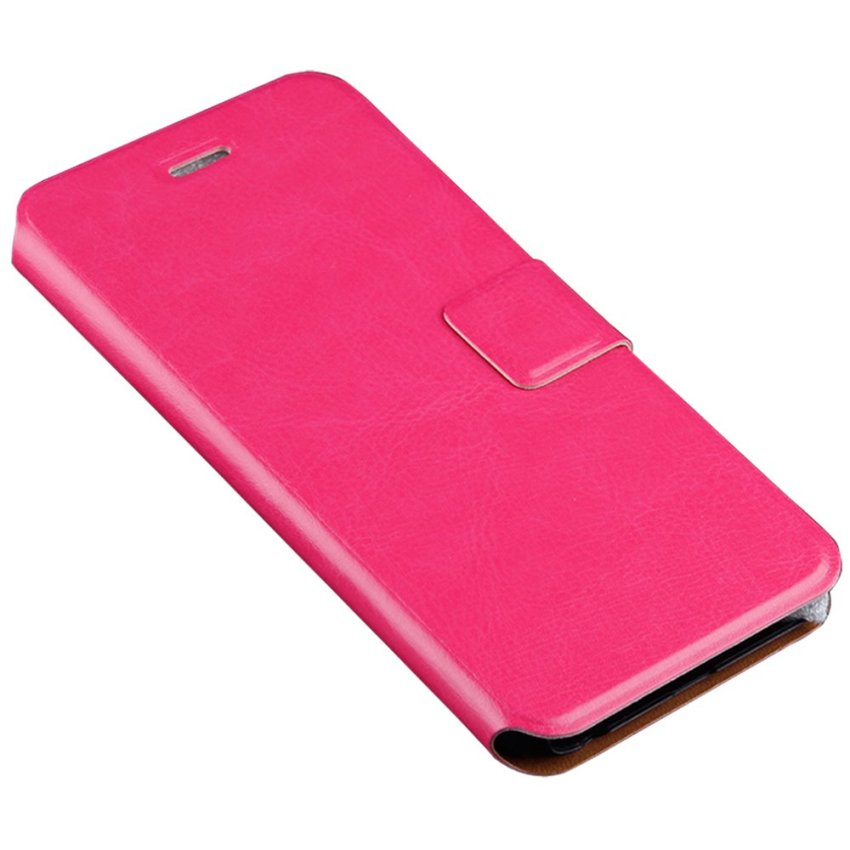 HB02 Golden Fame Stand Flip Cover for iPhone 6 Pink