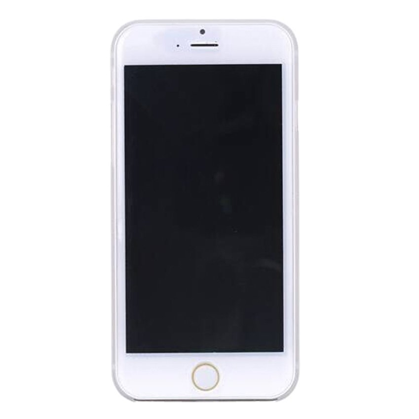 HB08 Cases Scrub Protect Shell 0.03 mm Slim Transparent Phone shell for iPhone 6 White