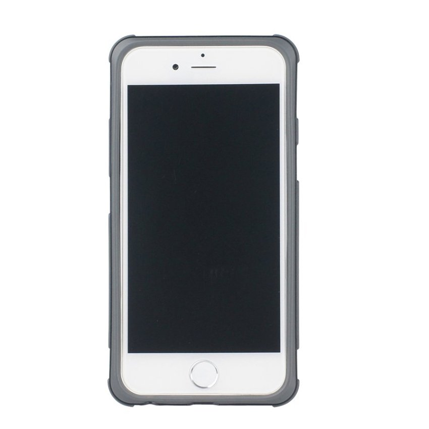 HB13 Cases TPU Double Color Border Cell phone Hit color Frame Phone shell Protective sleeve for iPhone 6 White
