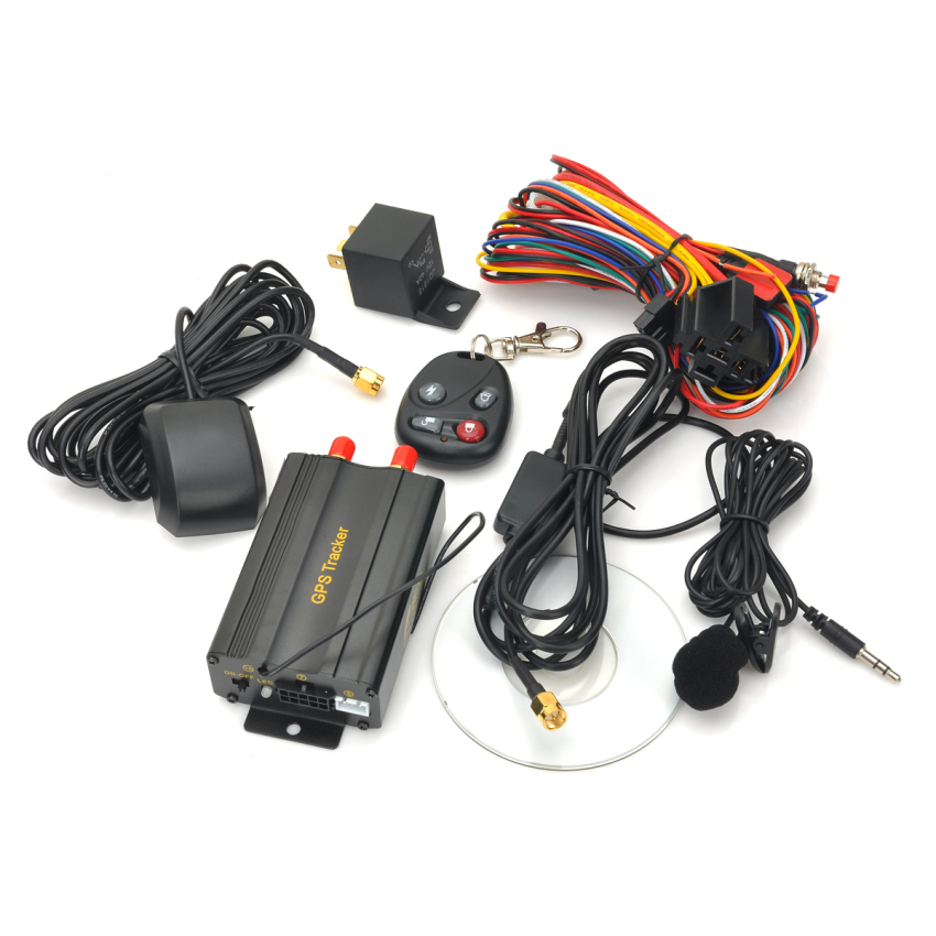 Heacent TK103B GSM / GPS / GPRS Car Vehicle Tracking System w/ Remote Controller (Black) (Intl)