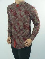 Herman Batik CB232 Baju Kemeja Batik Slimfit Fashion Pria Jeans Muslim Koko