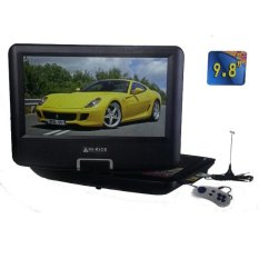 Hi-Rice NS-989 : DVD Portable TV 9.8 Inch Biru
