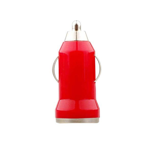 High Quality Hot Sale USB Bullet Car Charger Adapter for Phone (Red) (Intl)