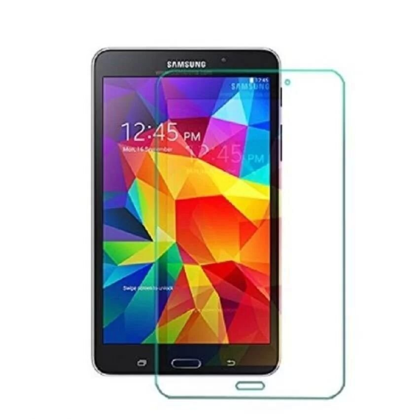 High Transmittance Protective Glass Film Tempered Glass for Samsung Galaxy Tab 4 7.0 Tablet T230T231 (Intl)