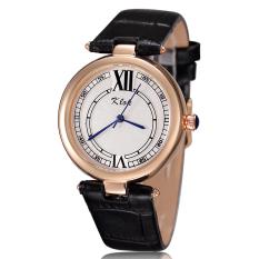 Hiiopiio KLOK Authentic Women's Sports Watches, Fashion Student Waterproof Leather Belt Female Models