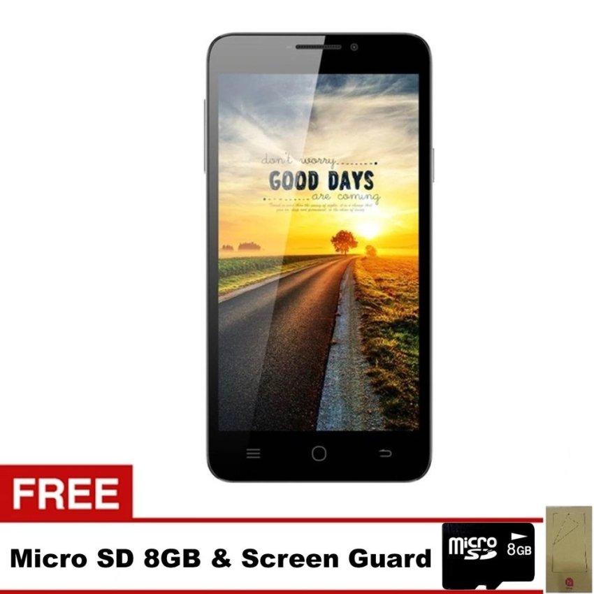 Himax Polymer X - 16GB - Putih + Gratis MicroSD 8GB + Screen Guard