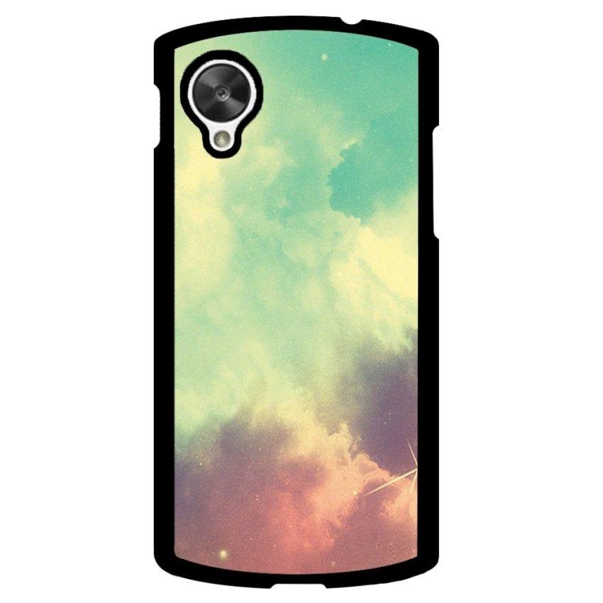 Hipster Nebula Pattern Phone Case for LG Nexus 5 (Multicolor)