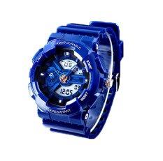Hogakeji SKMEI Fashion Student Dual Time Wrist Watches (Blue)