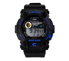 Hogakeji SKMEI Unisex Fashion Multifunction Digital Wrist Watches (Blue)