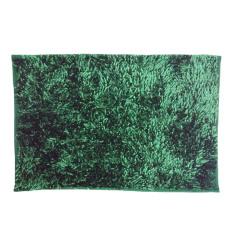 Home-Klik Keset Cendol Kilap Bahan Microfiber 40 x 60 cm - Hijau