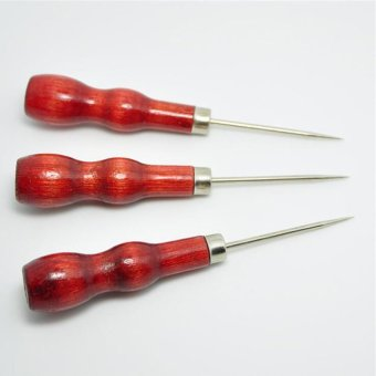 Homegarden overstitch wheel awl pin leather paper sewing for Gardening tools jakarta