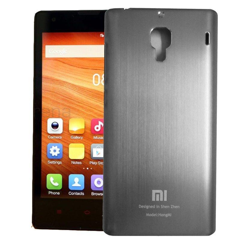 Hong  mi Aluminium case For Xiaomi Redmi 1s - Silver