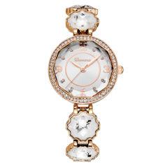 Hoongos With Wei Na (Davena) Watch Bracelet Watch Waterproof Quartz Watch Fashion Ladies Watch Diamond Gift Watch Rose Gold Watch