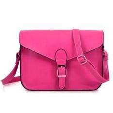 Hot Sale Women's Handbag Multi Function Rose Red (Intl)