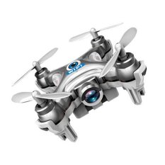 Hot Selling Quadcopter RC Quadcopter Cheerson Wifi FPV 0.3MP Camera LED 3D Flip 4CH CX10 Update Version Mini Drone BNF Helicopter Toy Gift (Dark Gray)