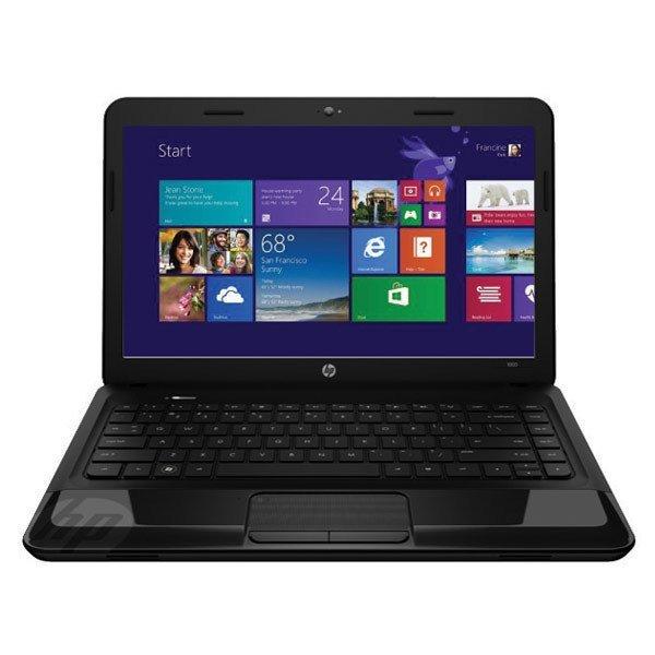 "HP 1000-1441TU - 14"" - Intel Celeron - Ram 2GB - 500GB - Win 8 - Hitam"