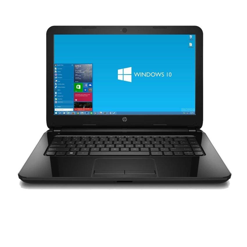 """HP 14-ac134tu - RAM 2GB - Intel N3050 - 14""""LED - Windows 10 - Hitam"""