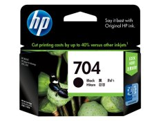 HP Ink 704 - Tinta Hitam
