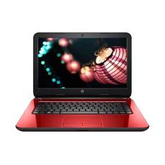 """HP Notebook 11-f104tu - Intel® Celeron® N2840 - 11.6"""" - Windows 10 - MERAH"""