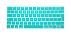 HRH Hot New English Silicone Keyboard Cover Protector Film Skin For Apple Magic Keyboard MLA22B / A EU Keyboard Layout (Aqua) - Intl
