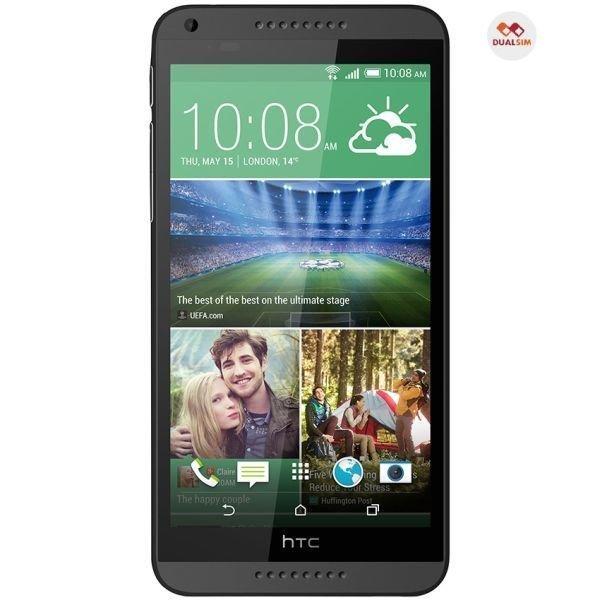 HTC 816 Dual - CDMA/GSM-GSM - Hitam/Abu-abu