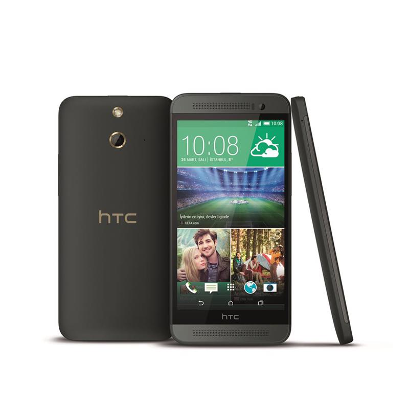 HTC One E8 Dual SIM - 16 GB - Abu-abu