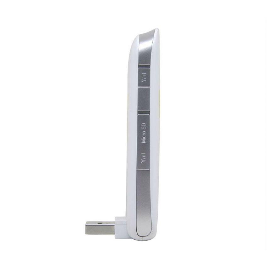 Huawei E3276 Modem 4G LTE FDD 100Mbps logo STC Support All GSM - Putih + Gratis Perdana Internet Simpati - Merah
