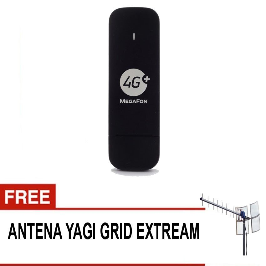 Huawei E3372 150Mbps Support 4G LTE Suport All gsm - Hitam + Gratis Antena yagi 85db