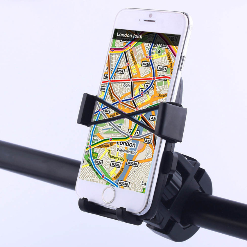 HX-M-X5 Universal Motorcycle Bicycle Handlebar Mount Holder for Phone GPS (Intl)
