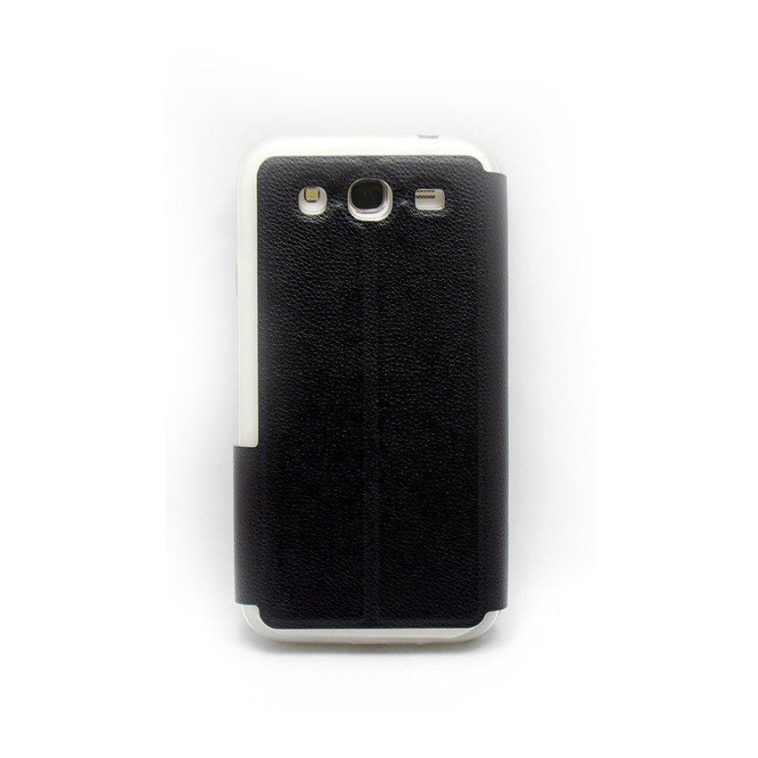 I-Gear Flip Cover Treeangel For Samsung Galaxy Mega 5.8 - Hitam