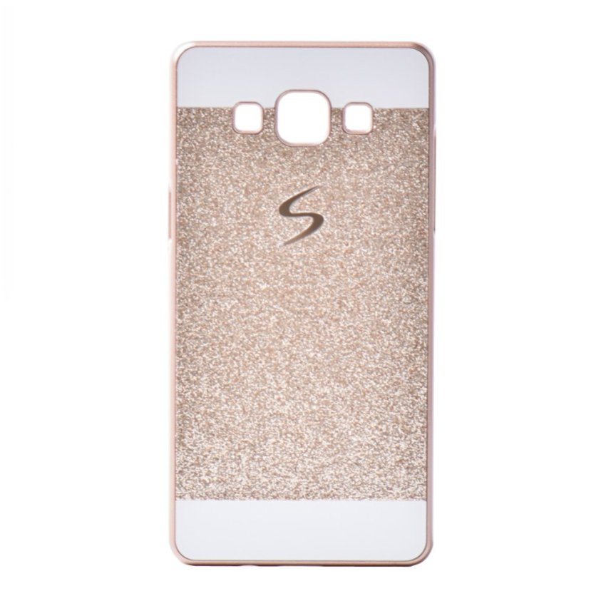 I3C Glitter Luxury Sparkle Hard Back Case for Samsung Galaxy A5 (Champange)