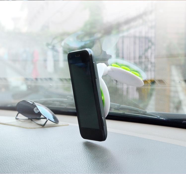Ikawai Gekko Sucker 360º Rotation for Smartphone - Hijau