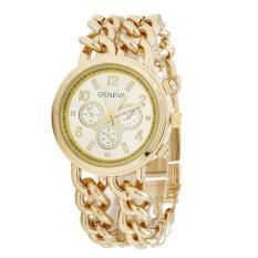ILife 2016 New Luxury Brand Watch Women Fashion Rose Gold Watch Stainsteel Chain Quartz Watch Women Dress Watches Gold