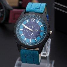 ILife Store Korean Male Fashion Trend Watches Quartz Watches Minimalist Style Male Models Blue