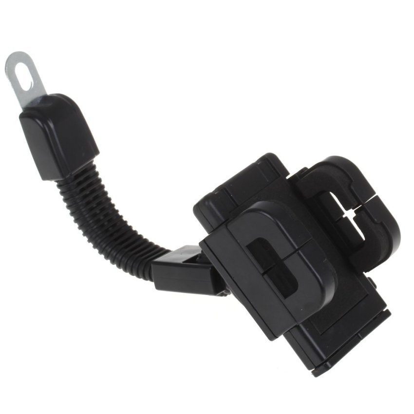 Indo Dealz HP / GPS Holder for Motorcycle - Pegangan HP untuk Motor - Hitam