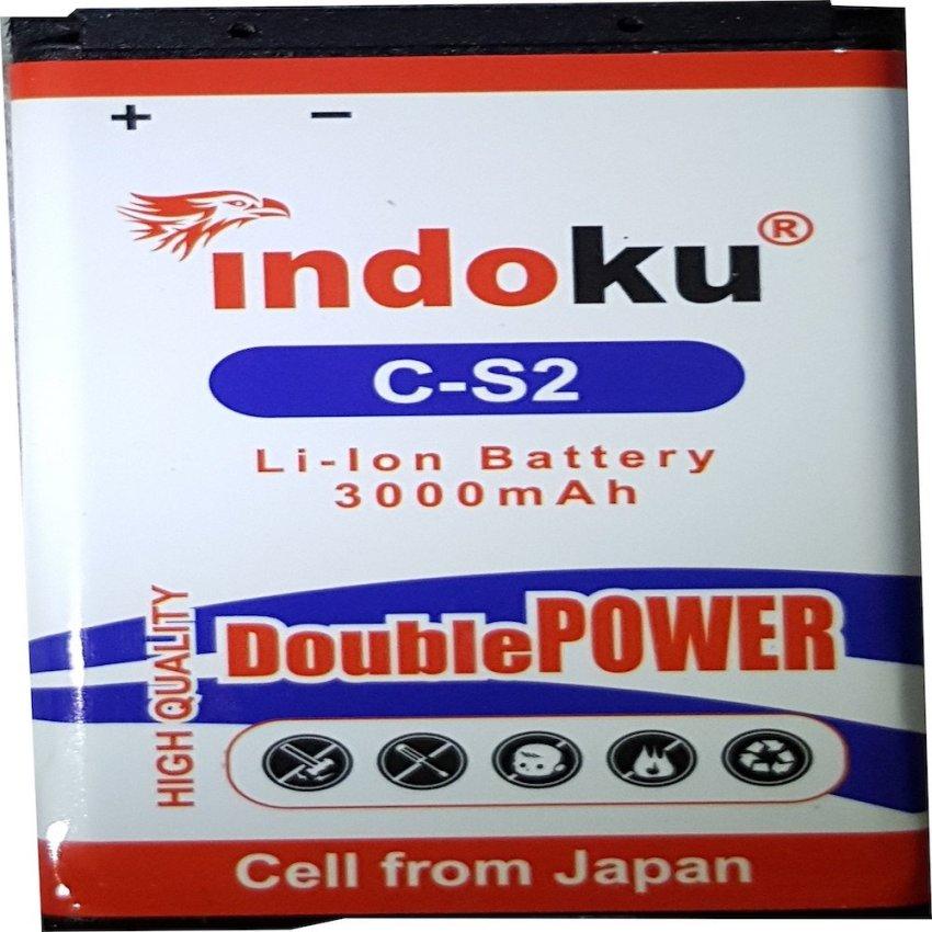 Indoku Battery Double Power for Blackberry C-S2 / Gemini / Kepler / Aries  (3000 mAh)