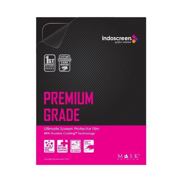 Indoscreen Mask Premium Lifetime Fluorine Coating Screen Protector for New Macbook 12