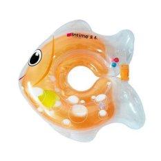 Intime Neck Ring - Pelampung Ban Leher Bayi - Motif Ikan Orange