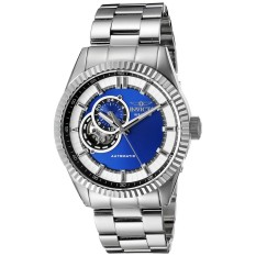 Invicta Pro Diver Men 42mm Case Silver Stainless Steel Strap Blue Dial Automatic Watch 22079