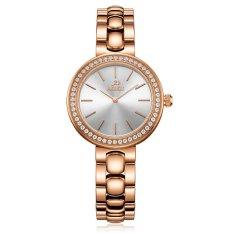 Iooilyu 2016 New Genuine Love ADA Ladies Watch Waterproof Fashion Fashion Belt Steel Rose Quartz Watch